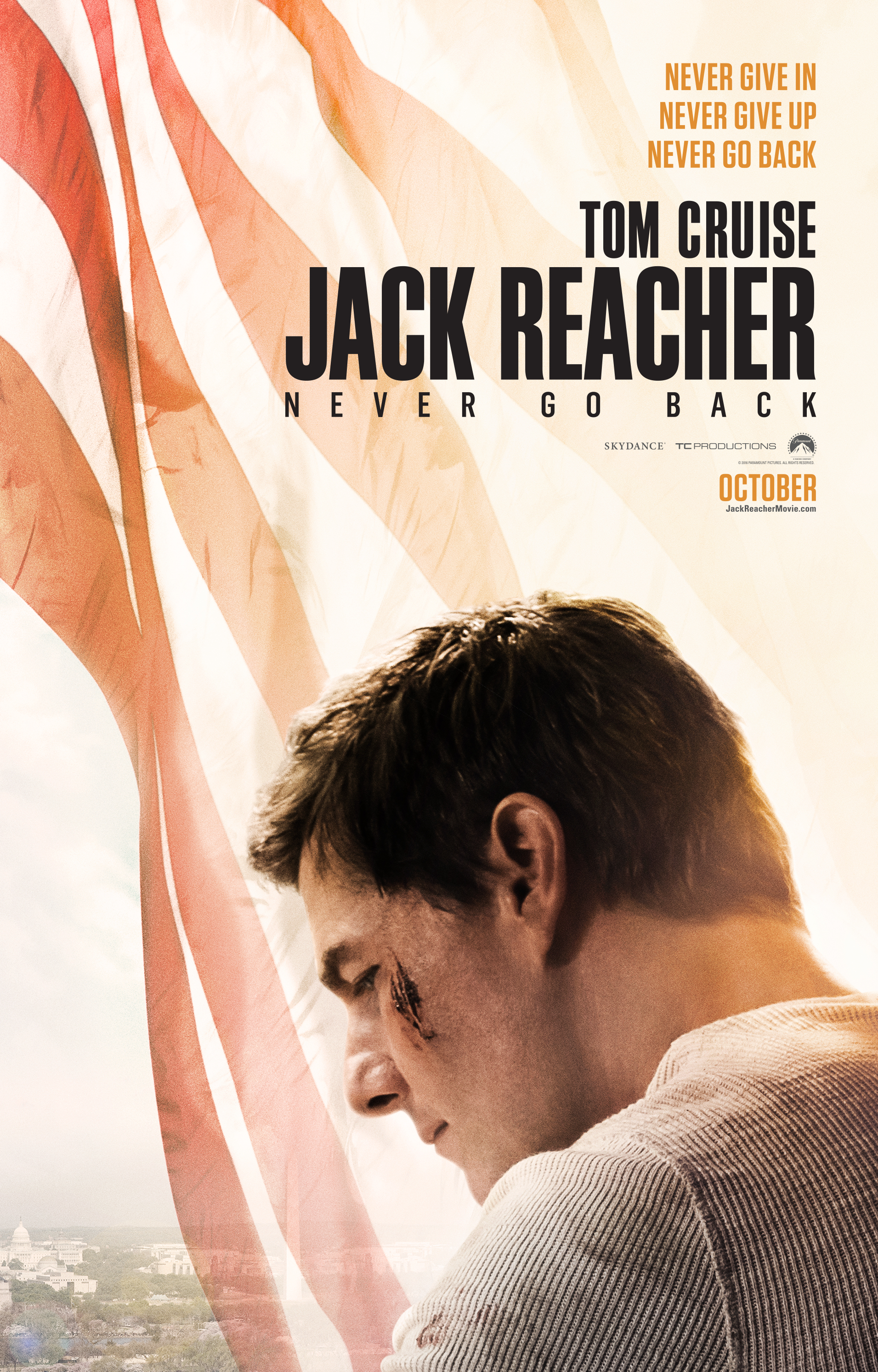 Jack Reacher Pummels More People In New TV Spot VIDEO POSTER
